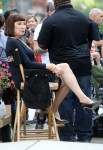 Megan Hilty seen filming scenes hit TV show WKBksmQ5Du8x